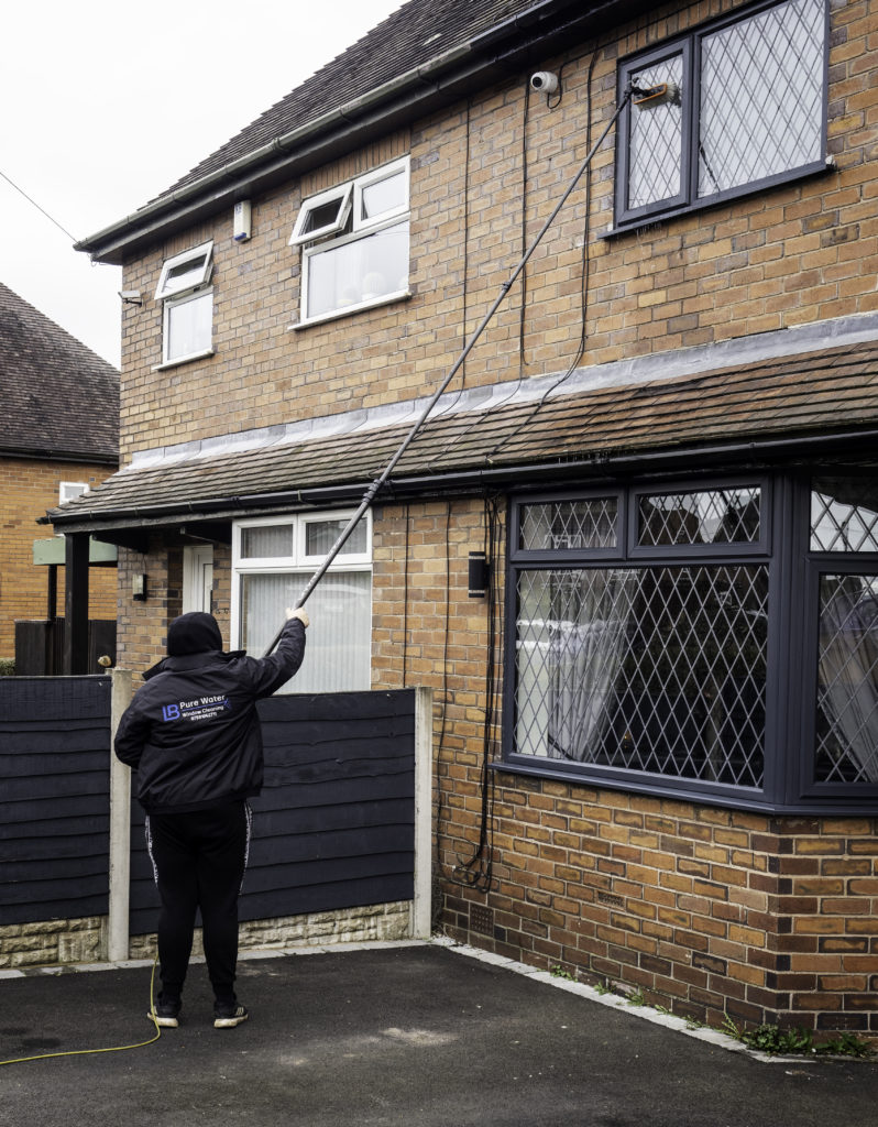 Window Cleaner in Cheadle, Stoke-on-Trent